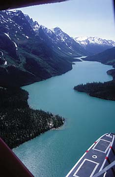 Aerial Flightseeing Yukon Photo