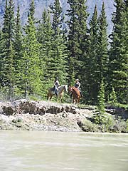 Watson River and riders